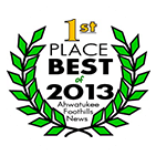 Best of 2013 - 1st Place